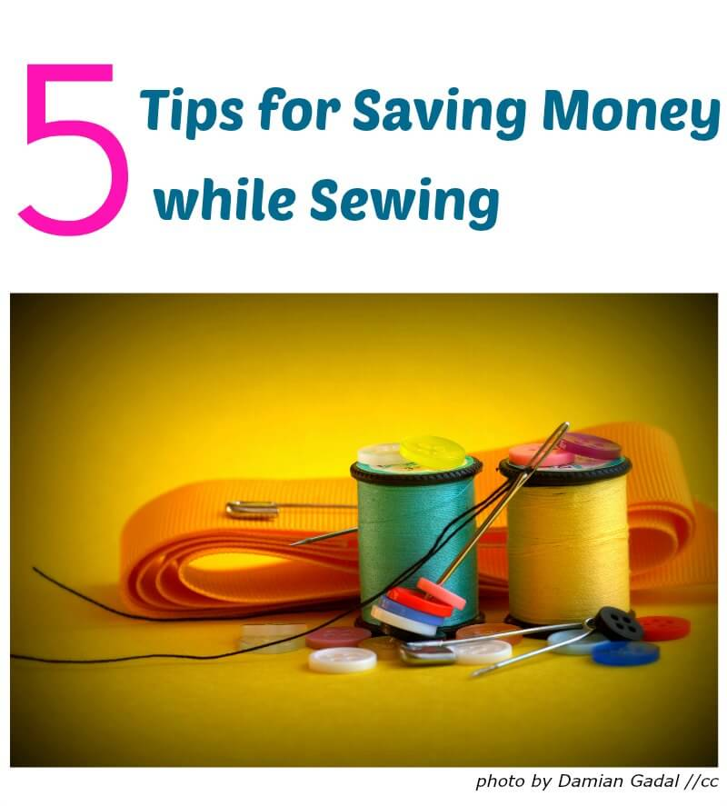 Savings Made by Sewing {Supplies} with Lulu & Celeste