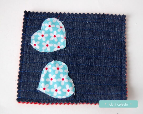Heart Coaster tutorial by Lulu & Celeste for Wally and Grace